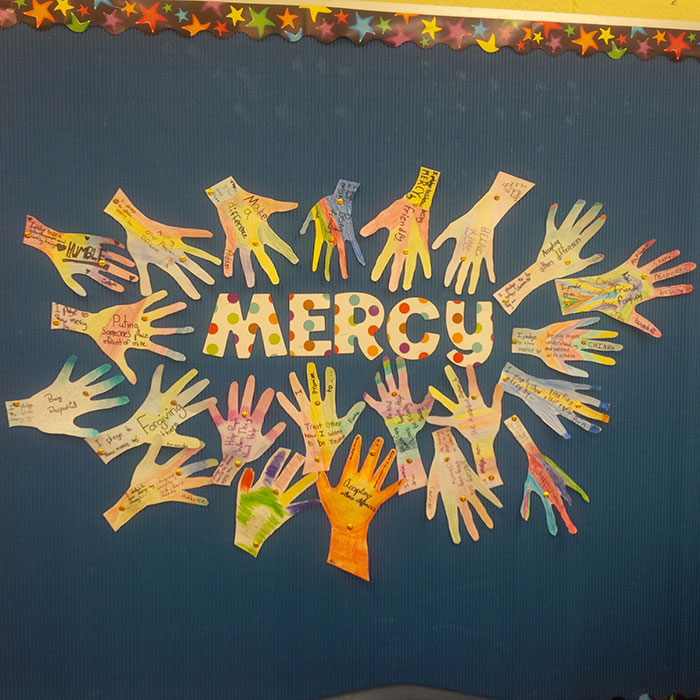 Markham students make New Year's resolutions for the Year of Mercy