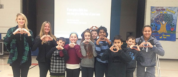 St. Joseph the Worker students inspired by motivational speaker