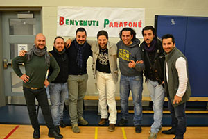 Italian music group performs for International Language students