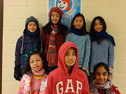Schools celebrate National Sweater Day