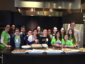 "St. Andrew students ""bake for change"""