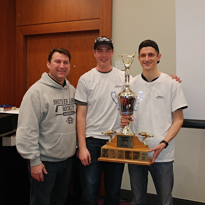 St. Brother Andre Catholic High School students win high school Automotive Technology Competition
