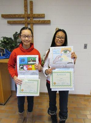 Blessed Scalabrini students featured in Water For Tomorrow Student Calendar