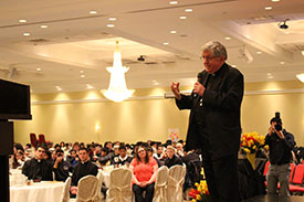 York Catholic students attend annual Youth Ordinandi Luncheon