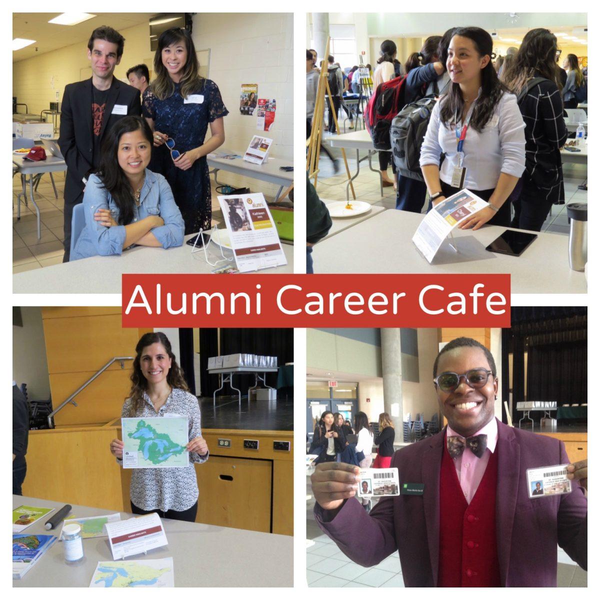 St. Augustine's first-ever Alumni Career Café a success!