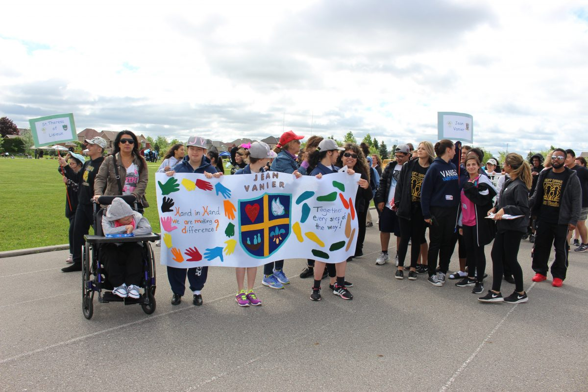Students show their spirit at YCDSB's annual Special Olympics Track and Field Day