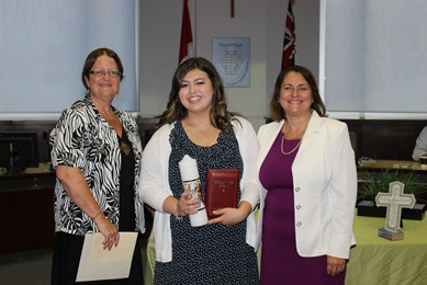 YCDSB welcomes its new student trustee, Natasha Iaboni