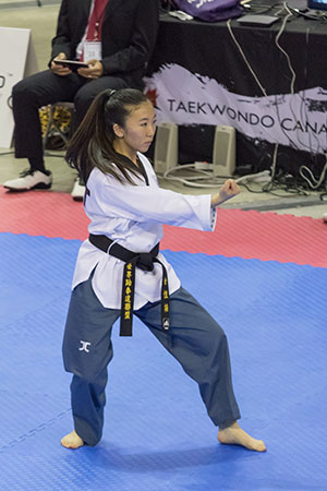 St. Brother Andre student to represent Canada at Taekwondo Championship in Peru