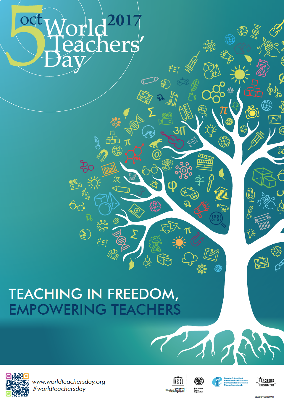October 5th is World Teachers' Day