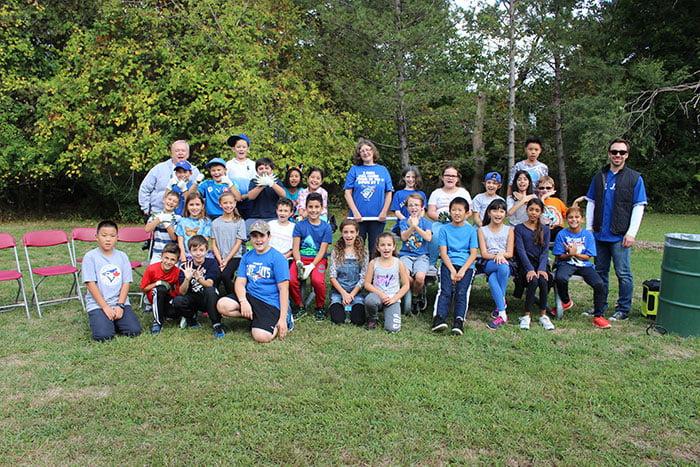 St. Patrick students help open Canada's first municipal milkweed nursery