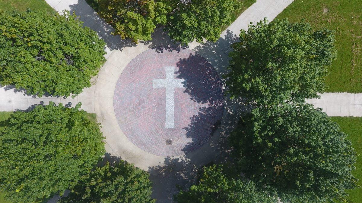 St. Elizabeth CHS celebrates its new courtyard