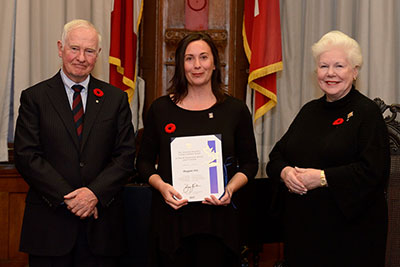 St. Brother Andre teacher received the Governor General's Caring Canadian Award