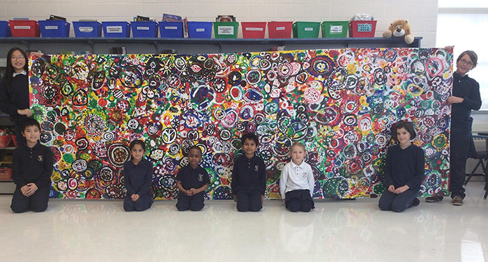 St. Michael CA students discuss inclusive behaviours, welcoming others