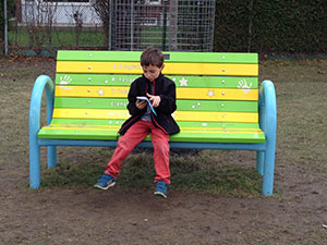 St. Kateri Tekakwitha CES introduces a Buddy Bench as part of its anti-bullying strategy
