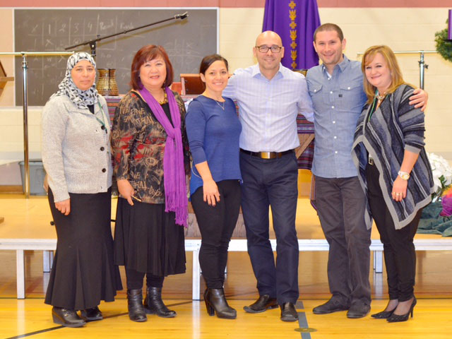 Holy Cross Catholic Academy recognized for contributions to newcomers