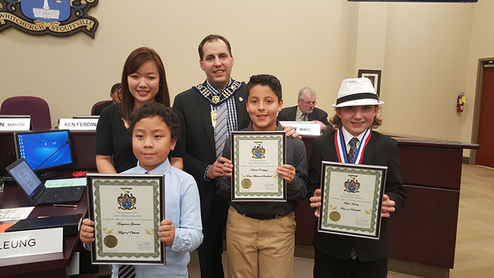St. Brendan students shine as elected politicians