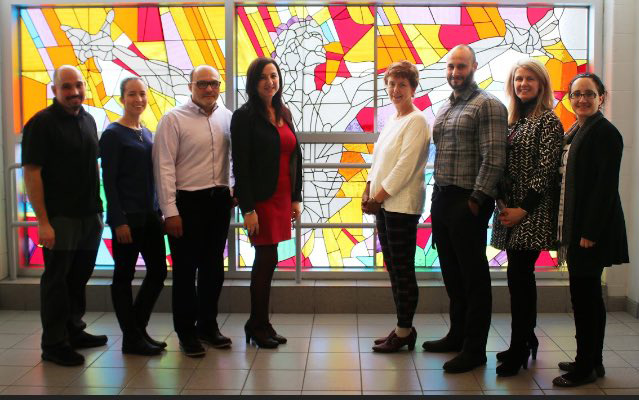 St. Jean de Brebeuf unveils new stained glass artwork