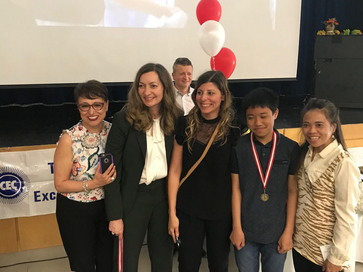 Congratulations to the YES I CAN Award Winners