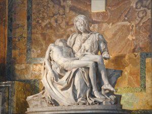La Pietà statue