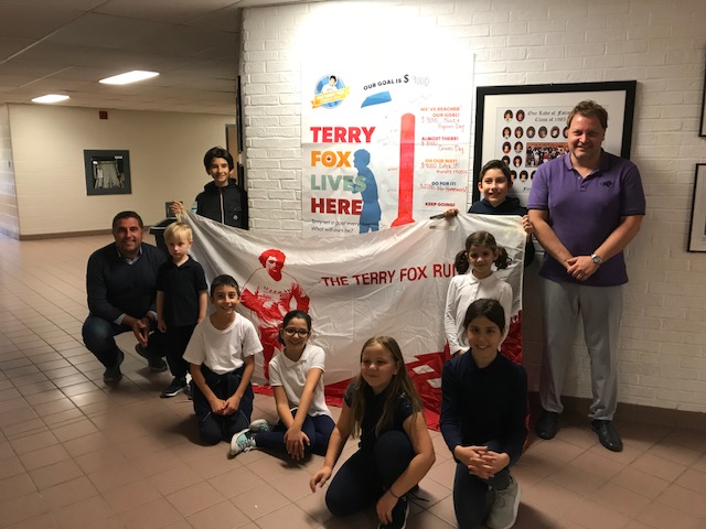 Terry Fox Fundraiser at Our Lady of Fatima CES