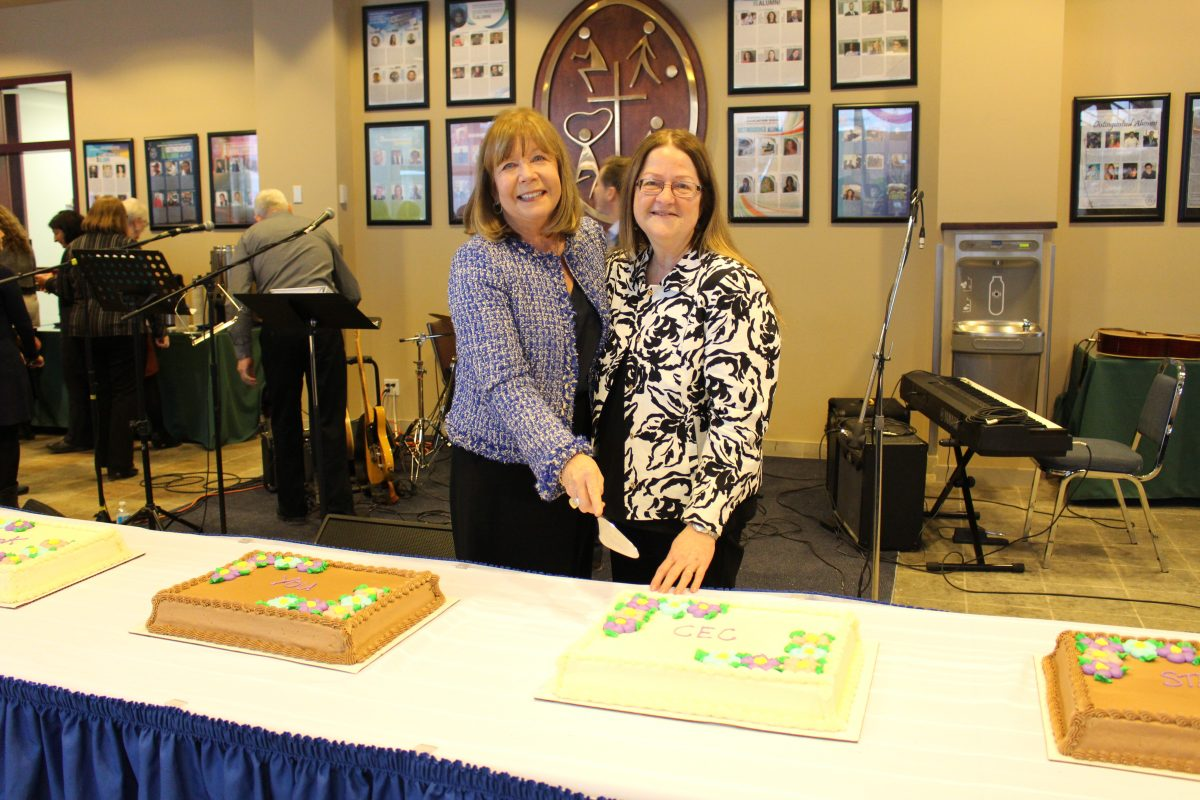 Catholic Education Centre Staff Bid Farewell to Director Preston