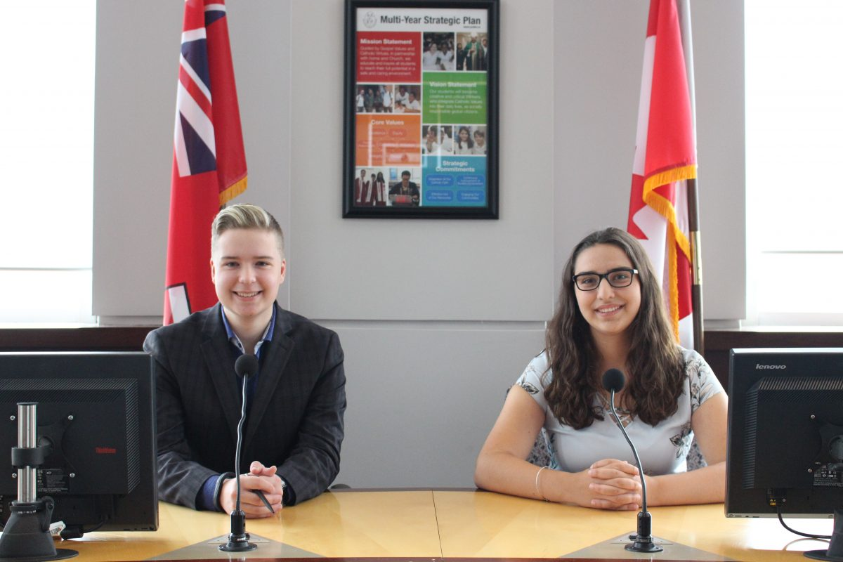 Meet YCDSB's Student Trustees