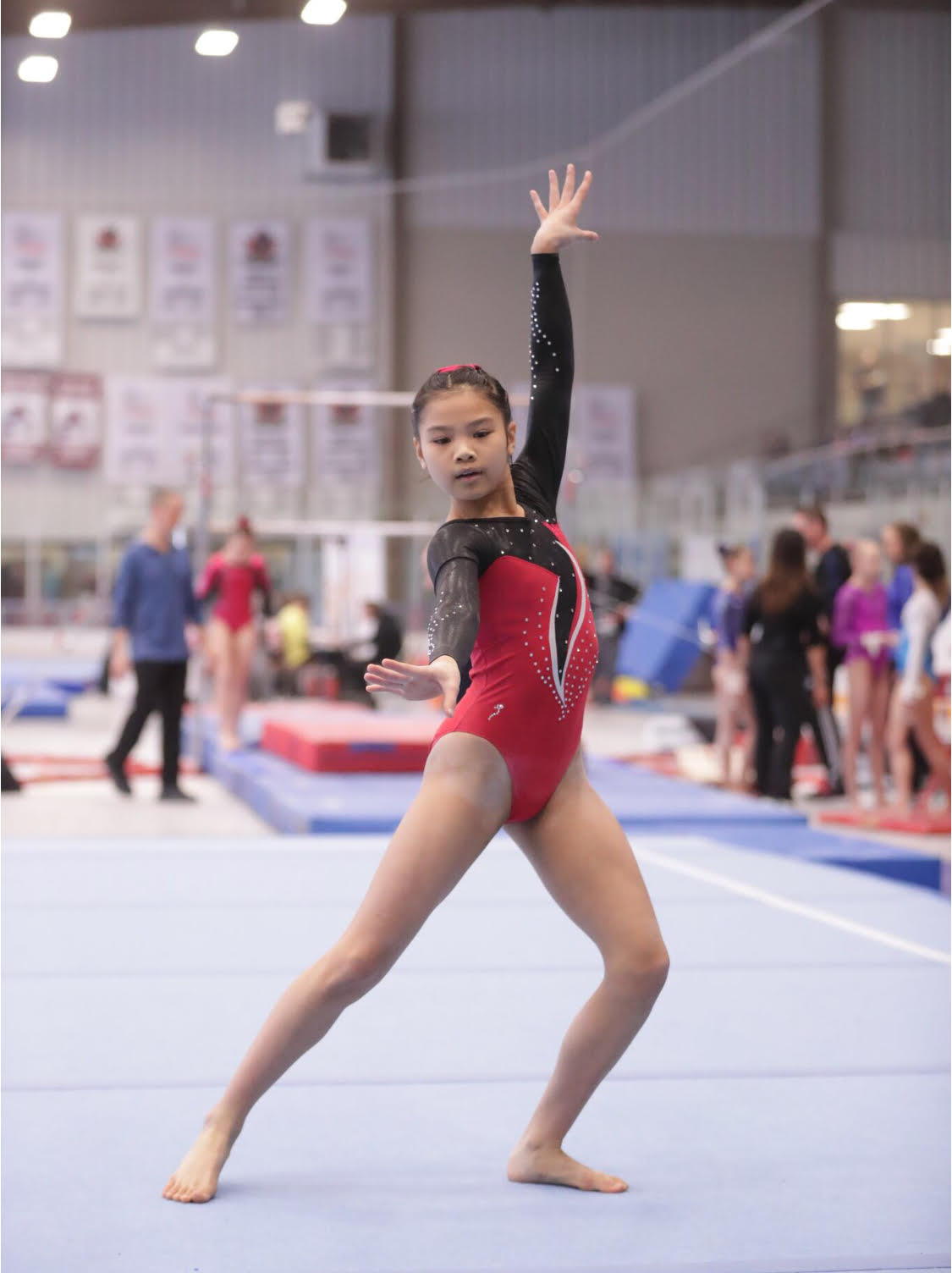 San Lorenzo Student to compete at National Gymnastics Championship
