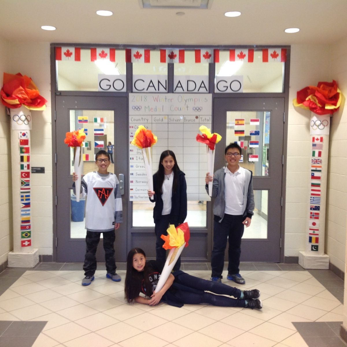 San Lorenzo Ruiz CES joins in on the Olympic Fun!