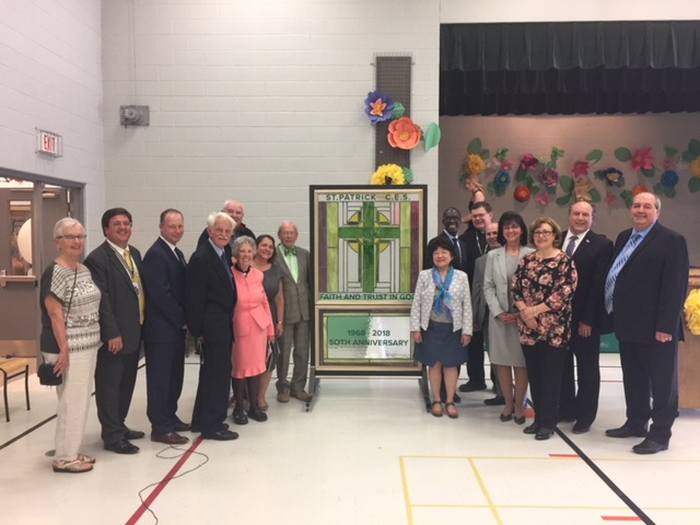 St. Patrick school celebrates 50 years of Catholic Education in Schomberg