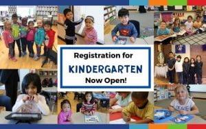 Kindergarten Registration for September Classes is Now Open