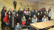 SMK students and staff donate winter clothing to homeless shelters