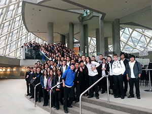 Semester one music program wrap-up at Father Bressani CHS