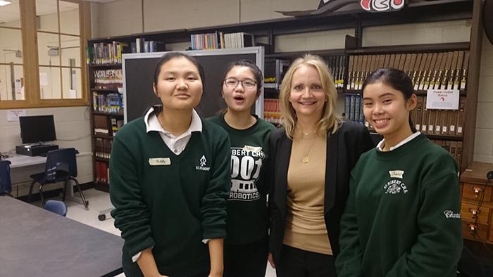 Girls in STEM Initiative brings special guest speaker to St. Robert CHS