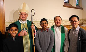2015 World Day of Migrants & Refugees Mass