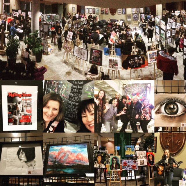 St. Augustine Art Exhibit Gala welcomed over 250 visitors to the CEC