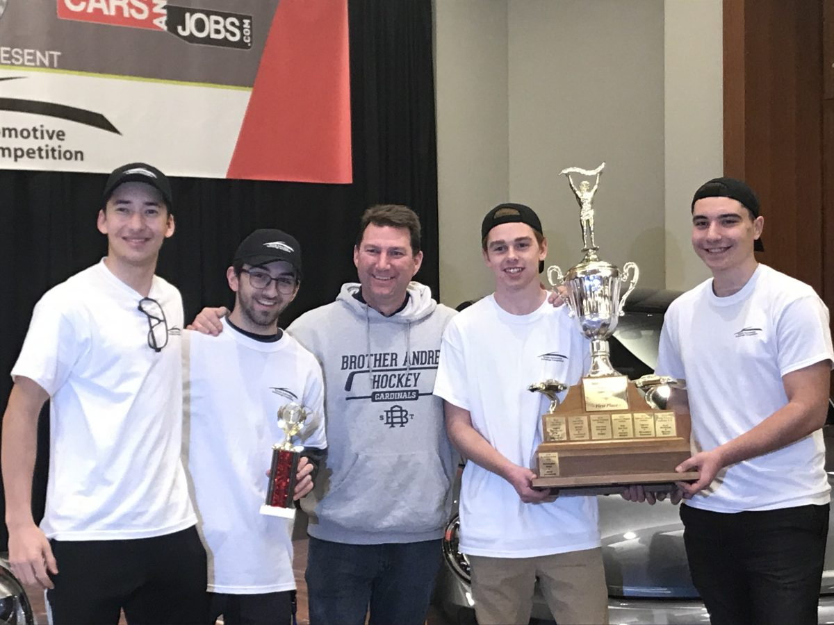 SBA students finish in 1st & 2nd place at Toronto Automotive Skills Competition