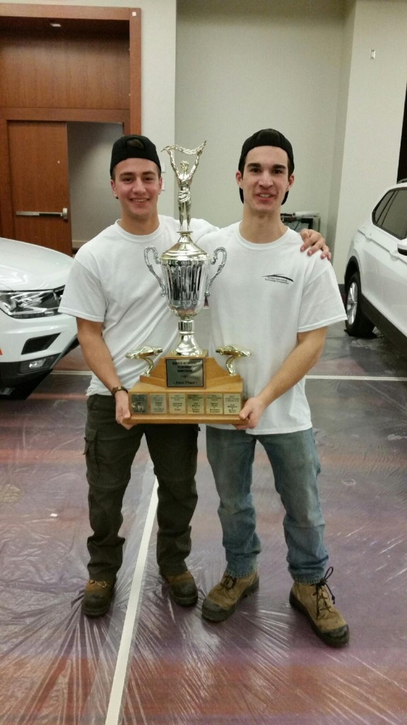 St. Brother Andre Catholic High School students win TADA skills competition second year in a row