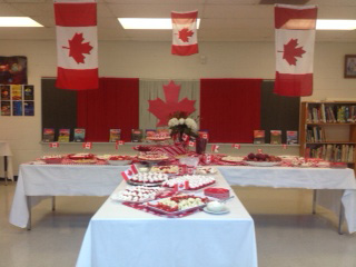 Students welcome and cheer for 37 new Canadians