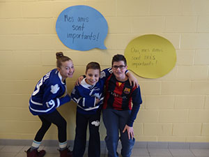 Nous sommes amis! Carnival friendship week at St. Mary of the Angels
