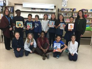 St. Anthony CES welcomes award-winning author, Itah Sadu for Black History Month