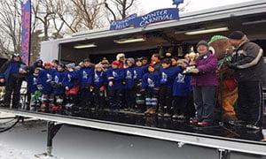 St. Anne & Father Frederick McGinn triumphant at Winter Carnival Hockey Tournament