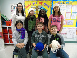 Crochet Club at St. Charles Garnier teaches students practical skills