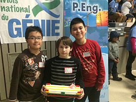 St. Charles Garnier PACE students earn 2nd Place at engineering challenge