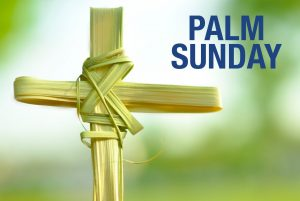 Palm Sunday marks the beginning of Holy Week