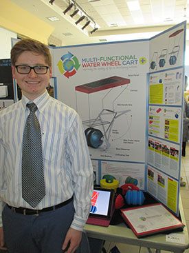 Markham student wins gold at York Region Sci-Tech Fair for the fourth consecutive year