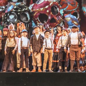St. Mary of the Angels students perform in Carmen with Opera Belcanto