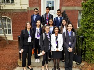 Four York Catholic students win silver medals at the Canada-Wide Science Fair!