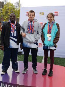 Holy Cross CA athletes victorious at inaugural Invitational Youth Games