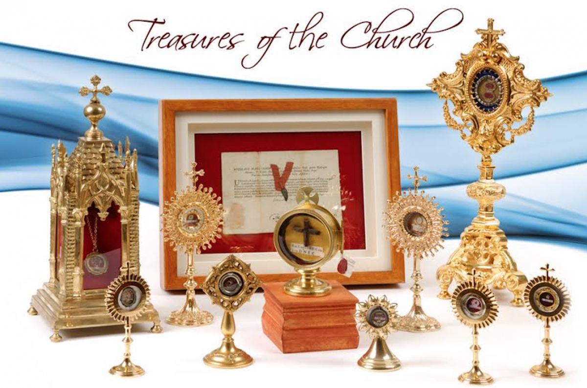 Cardinal Carter CHS presents: Sacred Relics of the Saints