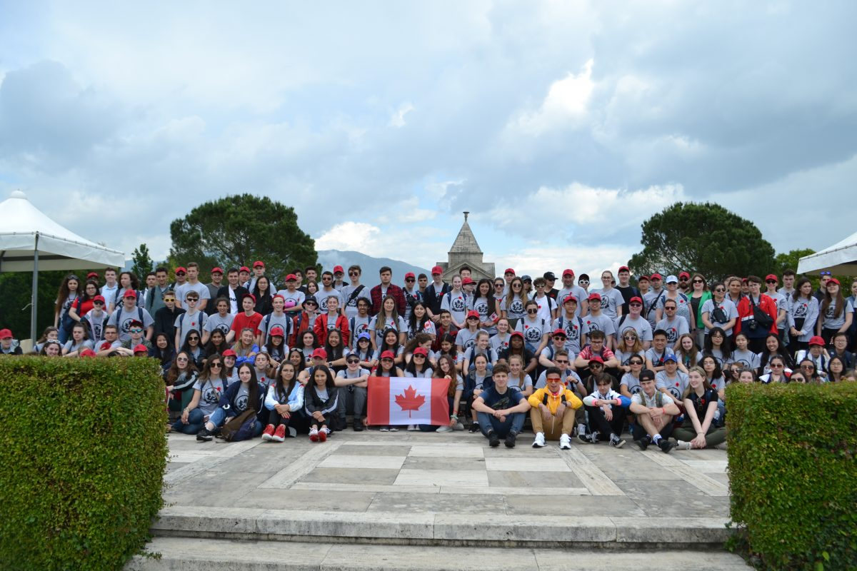 York Catholic students commemorate D-Day and the Italian Campaign